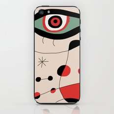 Tribute to J. Mirò (n.1) iPhone & iPod Skin