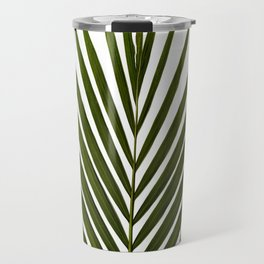 Bamboo - Tropical Botanical Print Travel Mug