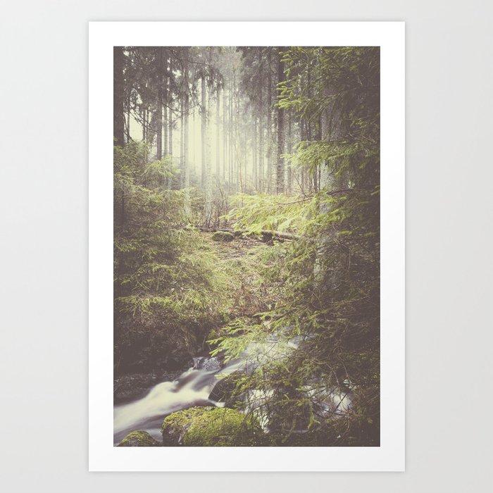 The paths we wander III Art Print