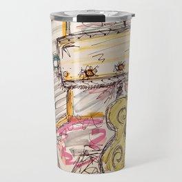 Vintage Lamp Travel Mug