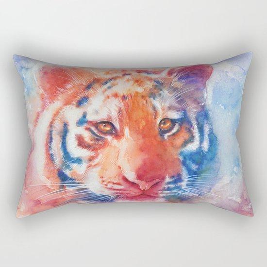 Staring into your soul Rectangular Pillow