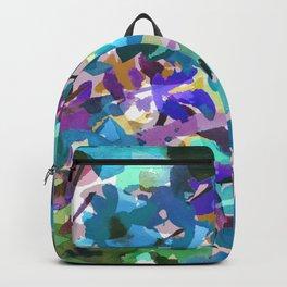 Ocean Blue Wildflowers Backpack