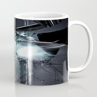 transformer Mugs featuring Transformer! by Robin Curtiss