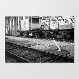 Point Lever Canvas Print