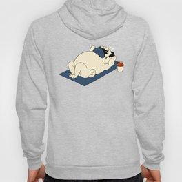 Pug Ab Crunches Hoody
