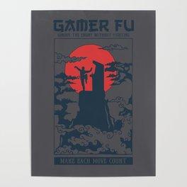 Gamer Fu Poster