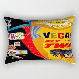 Vintage poster - Las Vegas Rectangular Pillow