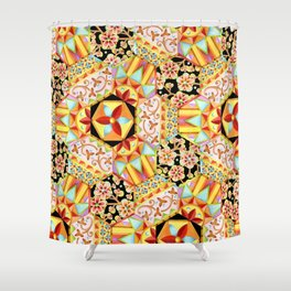 Gypsy Patchwork (printed) Shower Curtain