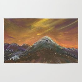Sunset Mountains Rug