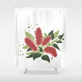 Firetail Shower Curtain
