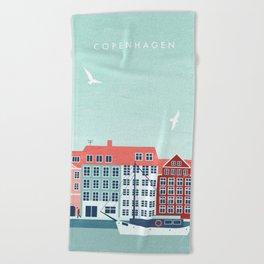 Copenhagen Beach Towel