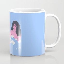 Bath Time Self Care illustration, bathroom art Coffee Mug