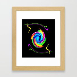 Abstract perfection -100 Framed Art Print