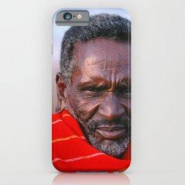 African Maasai Elder iPhone Case