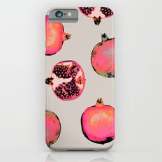 Pomegranate Pattern Slim Case iPhone 6s
