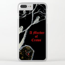 A Murder of Crows Clear iPhone Case