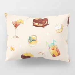 Orange Desserts Pillow Sham