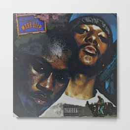 The infamous Mobb Deep Album Cover Metal Print