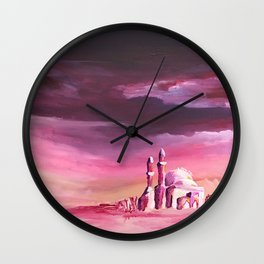 Dreamy Mosque Wall Clock