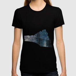 Taking the Evening Train Through Winter Words T-shirt