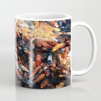 chinese Mugs featuring Chinese Koi by Alexander Jedermann
