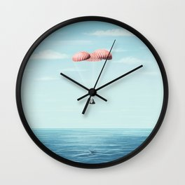 Splashdown Wall Clock