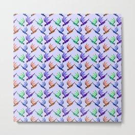 Little Dragons (purple) Metal Print