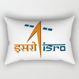 Indian Space Research Organization (ISRO) Logo Rectangular Pillow
