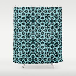 Island Paradise Floral Shower Curtain