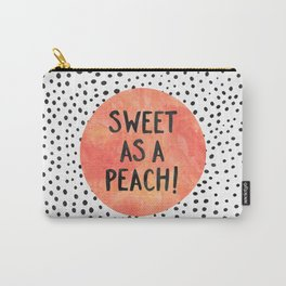 Sweet as a peach! Carry-All Pouch