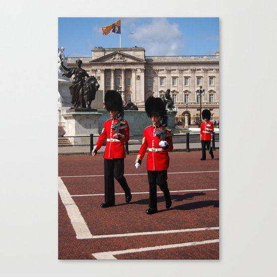 Guards and their Shadows 4 Canvas Print