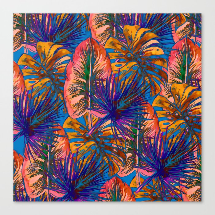 My Tropical Garden 8 Canvas Print