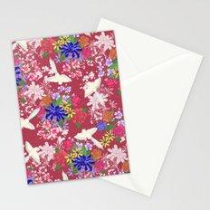 Tonde Iru Tori [red] Stationery Cards