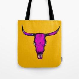 Horns - pink & yellow Tote Bag