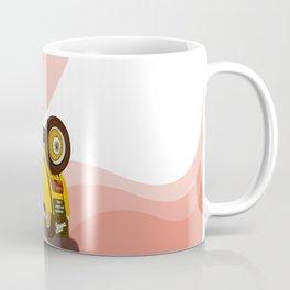 Vespa Vector yellow Coffee Mug