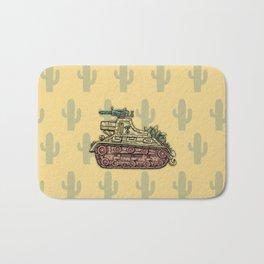 African desert corps tank WWII Bath Mat