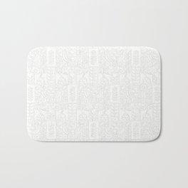 Swedish Folk Art - Subtle Bath Mat