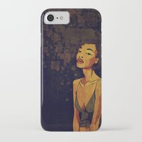 afro iPhone & iPod Cases featuring afro - Soul by Mike Koubou