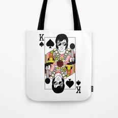 Elvis Presley Playing Card illustration  Tote Bag