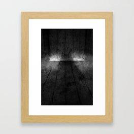 The Floorboards Framed Art Print