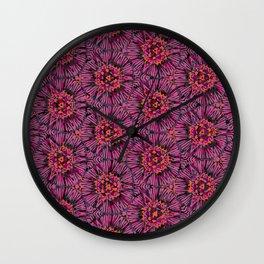 Plum Wall Clock