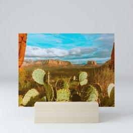 Sunny Sedona Mini Art Print