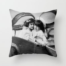 The Tragic Tale of The Bitterman Sisters Throw Pillow