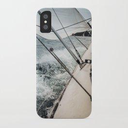 Yacht Race iPhone Case
