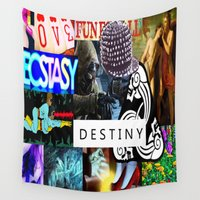 destiny Wall Tapestries featuring Destiny by Aldo Couture