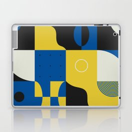 Abstract Geometric Composition 028 Laptop & iPad Skin