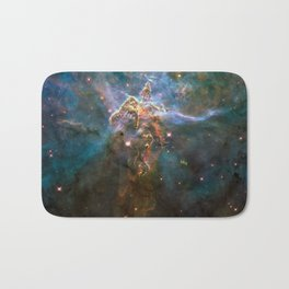 Mystic Mountain Nebula Bath Mat