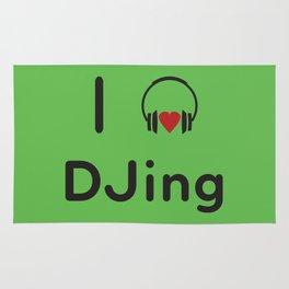 I heart DJing Rug