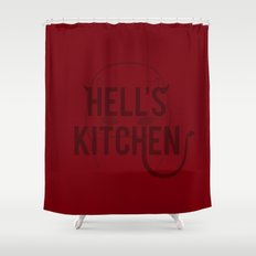 Devil of Hell's Kitchen - Variant Shower Curtain