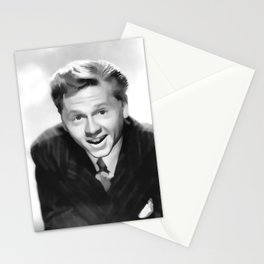 Vintage Mickey Rooney - Circa 1940's Stationery Cards
